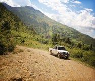 С следа Центральной Америки дороги Стоковое фото RF