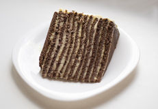 Служа торт Стоковые Фото
