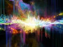 Случайная звуковая война иллюстрация вектора