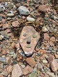 Случайное искусство пляжа Стоковое Изображение RF