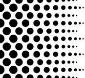 Случайное полутоновое изображение, картина пуантилизма - солдат нерегулярной армии ставит точки абстрактный m Стоковые Фотографии RF