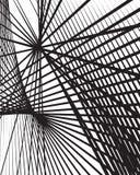 Случайные линии абстрактная предпосылка Современное, минимальное искусство любит grap Стоковая Фотография