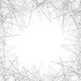 Случайные нервные формы на ` s художественного произведения окаймляются Рамка Gometric, backgroun Стоковые Фото