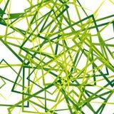 Случайные пересекая линии, квадраты Современное красочное геометрическое te Стоковое фото RF