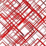 Случайные пересекая линии, квадраты Современное красочное геометрическое te Стоковое Изображение RF
