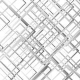 Случайные пересекая линии, квадраты Современное красочное геометрическое te Стоковая Фотография