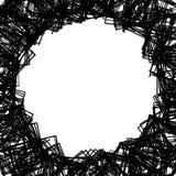 Случайные разбросанные формы Смогите быть использовано как рамка или предпосылка fo Стоковые Фотографии RF
