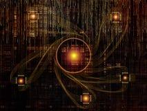 Случайные связи технологии бесплатная иллюстрация