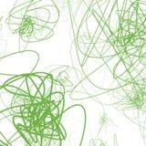 Случайные схематичные линии резюмируют monochrome предпосылку, картину Стоковое Фото
