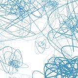 Случайные схематичные линии резюмируют monochrome предпосылку, картину бесплатная иллюстрация