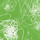 Случайные схематичные линии резюмируют monochrome предпосылку, картину Стоковое Изображение RF