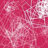 Случайные схематичные линии резюмируют monochrome предпосылку, картину Стоковое Изображение