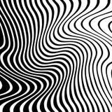 Случайные хаотические пересекая линии Абстрактный геометрический monochrome Стоковые Изображения RF