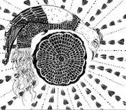 Случайный чертеж Стоковое фото RF