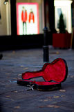Случай гитары Стоковая Фотография
