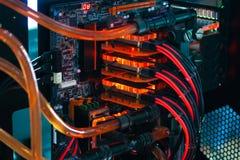 Случай компьютера дорабатывает Стоковая Фотография RF