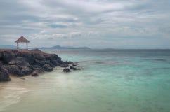 Слушайте к сердцу моря Стоковые Фото