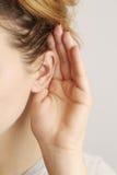Слушая gossiping Стоковое Изображение RF