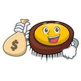 С шаржем характера мальчишкаа моря сумки денег Стоковое Изображение RF