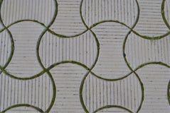 Слябы вычисляемые серым цветом вымощая Стоковое Изображение