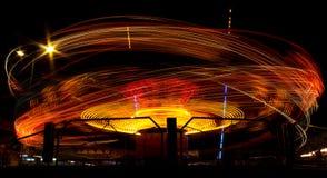 Сarousel στην κίνηση Στοκ Εικόνα