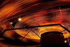 Сarousel στην κίνηση Στοκ Εικόνες