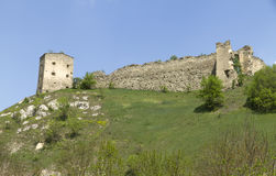 Сastle ruiny Zdjęcia Stock