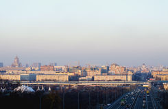 Сity of Moscow Royalty Free Stock Images