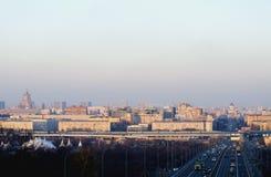 ?ity de Moscú Imágenes de archivo libres de regalías