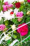 Сolorful开花花束。 库存照片