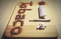 Табак иллюстрации поддельный Стоковые Изображения
