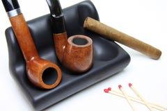 табак труб сигары Стоковые Фотографии RF