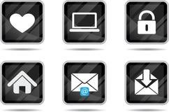 таблетка интернета 2 икон бесплатная иллюстрация
