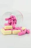 Таблетка и капсула медицины Стоковое фото RF
