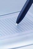 таблетка компьютерной графики Стоковые Фотографии RF
