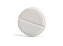 таблетка путя аспирина Стоковое Изображение