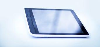 таблетка экрана икон компьютера установленная белизна изолированная предпосылкой Стоковое Фото