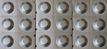 таблетки волдыря Стоковые Фотографии RF