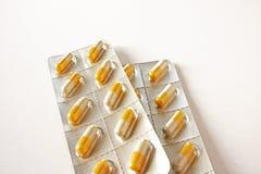 таблетки гриппа Стоковое Изображение RF