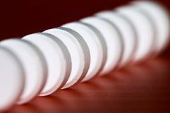 таблетки рядка Стоковые Изображения RF