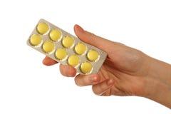 таблетки удерживания Стоковое Изображение