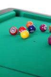 таблица биллиарда шариков Стоковое Фото