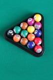 таблица биллиарда шариков Стоковые Фото
