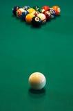 таблица биллиарда Стоковые Фото