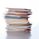 таблица визитных карточек Стоковое Фото