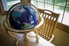таблица глобуса Стоковая Фотография