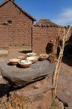 таблица грязи каменная типичная Стоковые Изображения