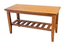таблица деревянная Стоковая Фотография RF