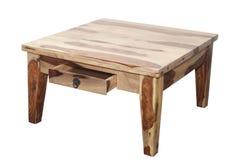 таблица деревянная Стоковая Фотография