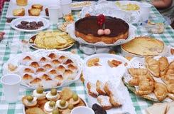 таблица дня рождения Стоковая Фотография